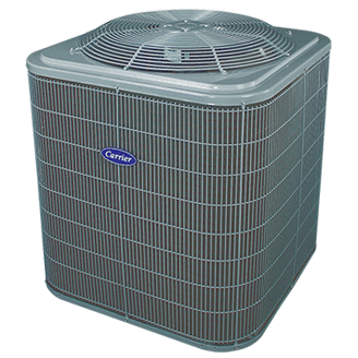 Carrier Comfort 13 central air conditioner.