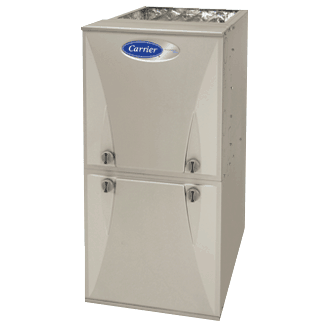 Carrier Performance 90 Boost gas furnace.
