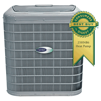 Carrier Infinity 16 heat pump.