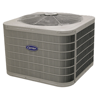 Carrier Performance 16 heat pump.
