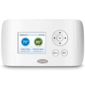 Carrier Wi-Fi Thermostat.