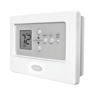 Carrier Comfort Thermostat.