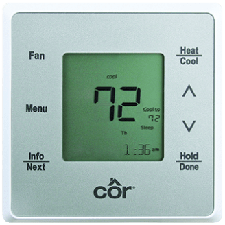 Côr<sup>®</sup> 5 Thermostat.