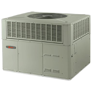 Trane XR14c packaged heat pump systems.
