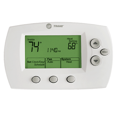 Trane XL602 thermostat.