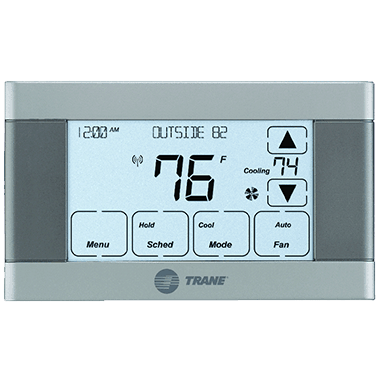 Trane XL624 connected controls.