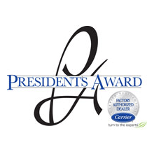 Carrier presidents award.